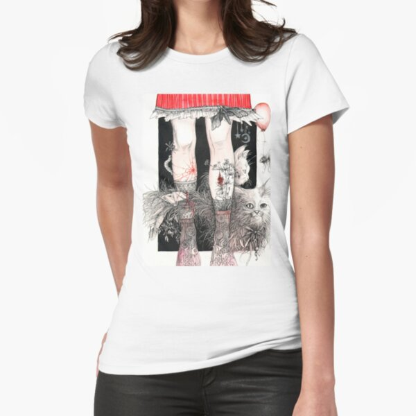 Legs Fitted T-Shirt