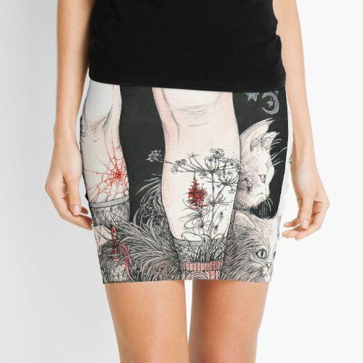 Legs Mini Skirt