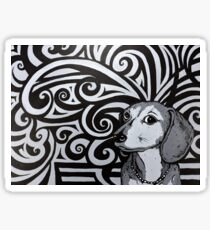 Abby Abstracts Sticker