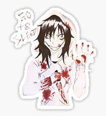 jeff the killer  Sticker