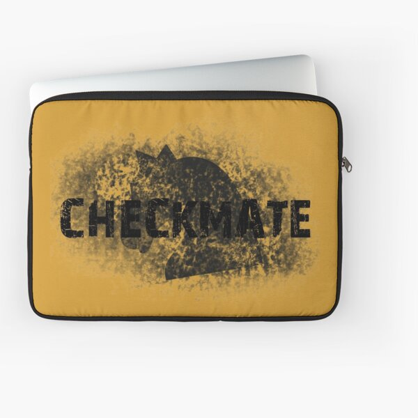 Checkmate knight Laptop Sleeve