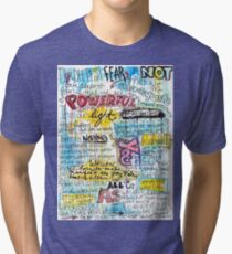"Marianne Williamson Quote - ""Our deepest fear is not that we are inadequate"" Tri-blend T-Shirt"