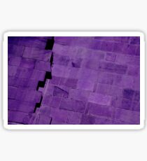 Purple Bricks Sticker