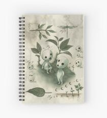Natural History - Forest Spirit studies Spiral Notebook