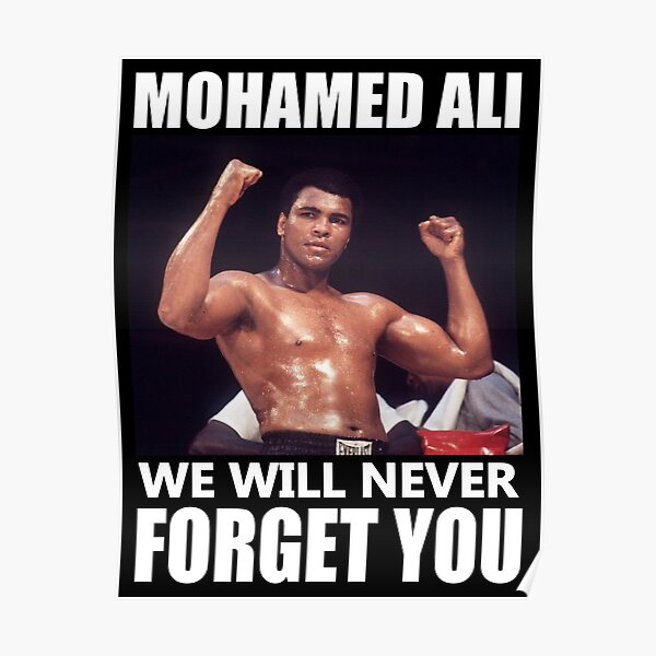 Mohamed Ali, Mohamed Ali Poster