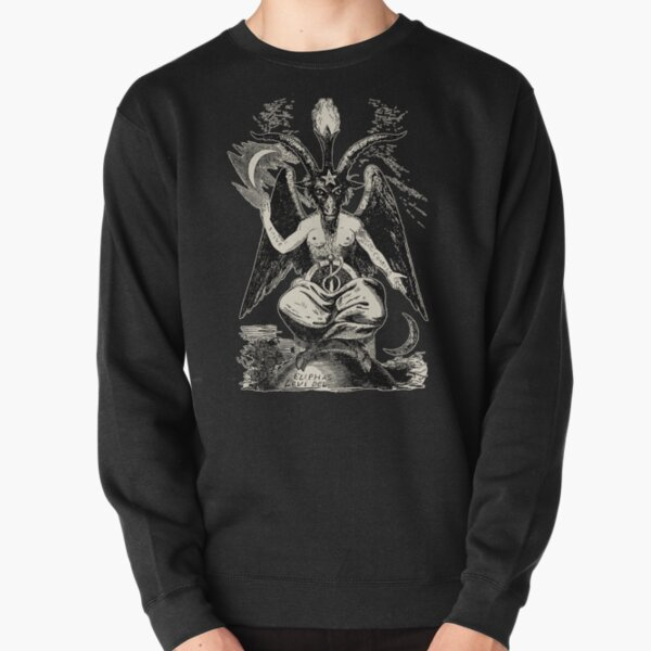 Baphomet Pullover Sweatshirt