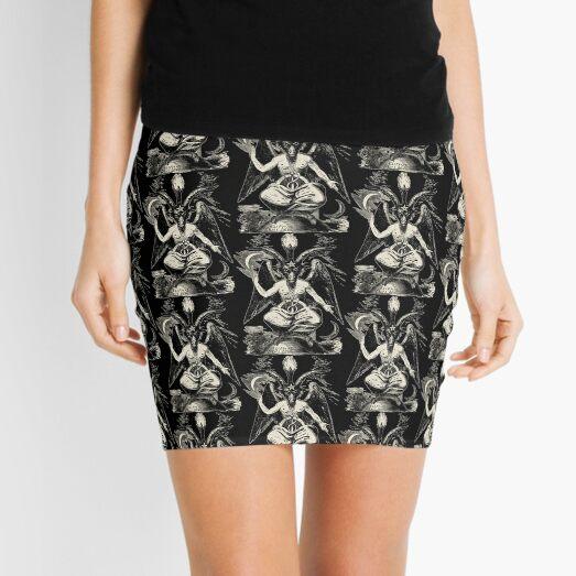 Baphomet Mini Skirt