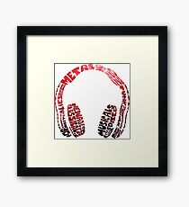 Music! Framed Print