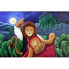 """""""Tonight The Lion Dances"""" by mitchmargo"""
