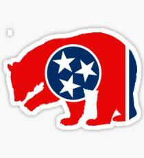 Tennessee Bear Sticker