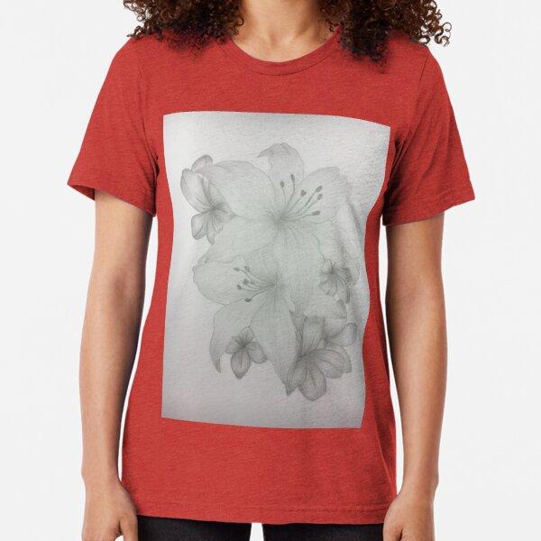 Lilies And Friends Tri-blend T-Shirt