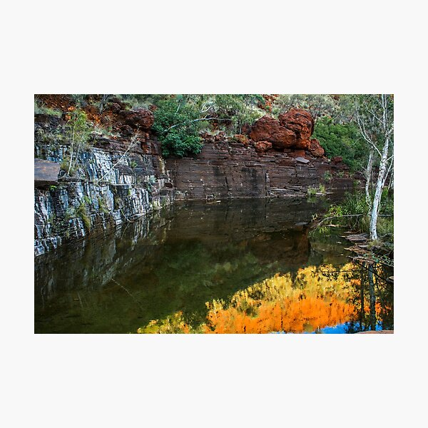 Reflections of the Pilbara Photographic Print