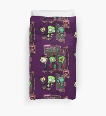 Zim Design of DOOM! Duvet Cover
