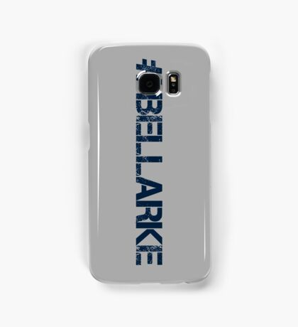 #BELLARKE (Navy Text) Samsung Galaxy Case/Skin