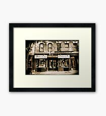McNulty Coffee and Tea Framed Print