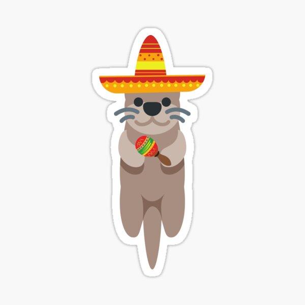 Mexican Otter Sticker