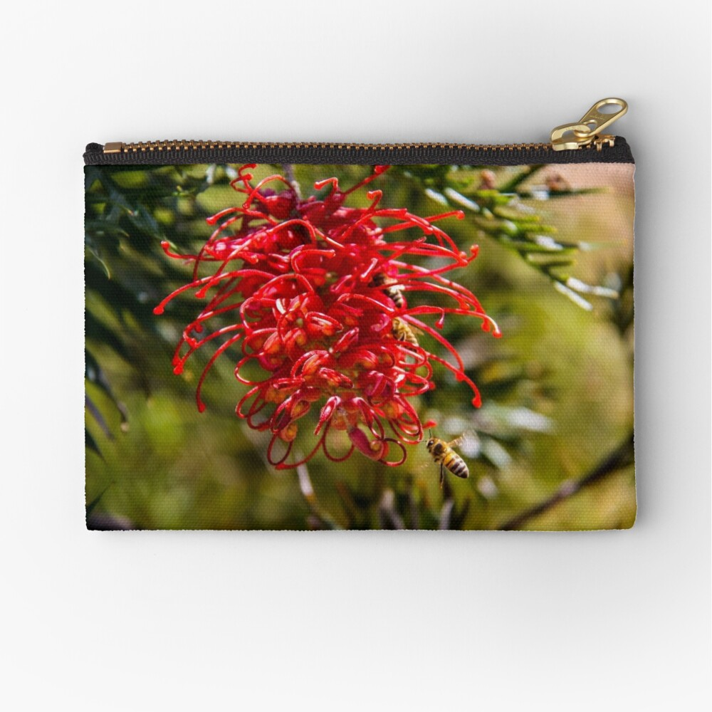 bees to the honey Zipper Pouch
