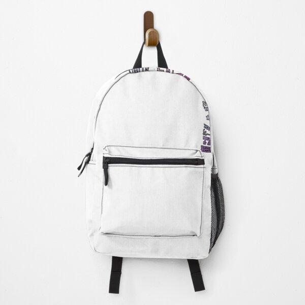 sincerity slogan Backpack
