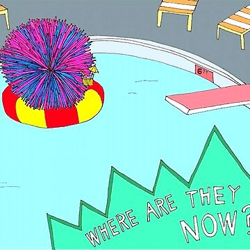 Broad City Where Are They Now Koosh Ball by autonomy