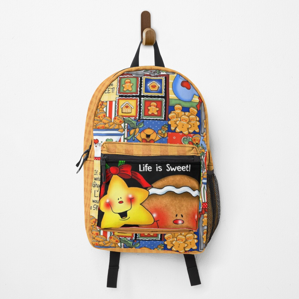 Holiday Gingerbread and Spice Backpack