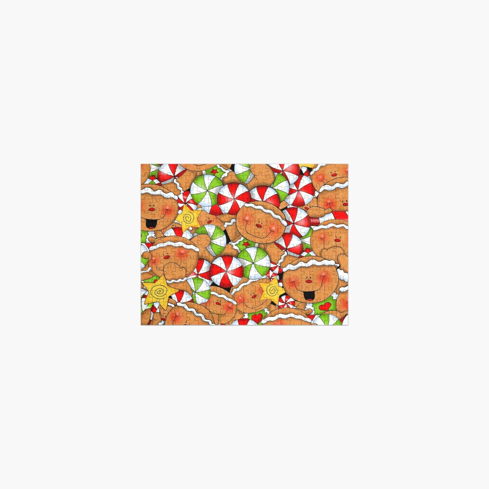 Holiday Gingerbread and Spice Jigsaw Puzzle