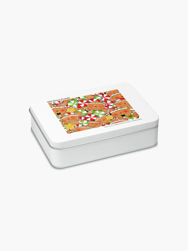 Alternate view of Holiday Gingerbread and Spice Jigsaw Puzzle