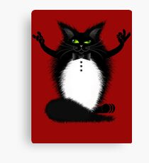 ZIGGY THE CAT Canvas Print