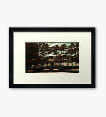 Modern Urban Apartments Framed Print