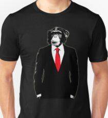 Domestizierter Affe Slim Fit T-Shirt