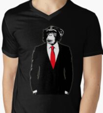 Domesticated Monkey Men's V-Neck T-Shirt