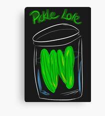 Pickle Love Canvas Print