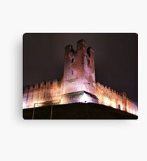 tower on the walls Canvas Print