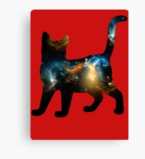 CELESTIAL CAT 3 Canvas Print