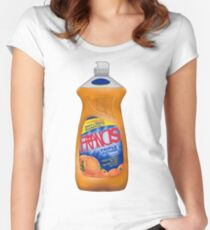 Francis Dish Soap Fitted Scoop T-Shirt