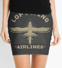 Loftwing Airlines Mini Skirt