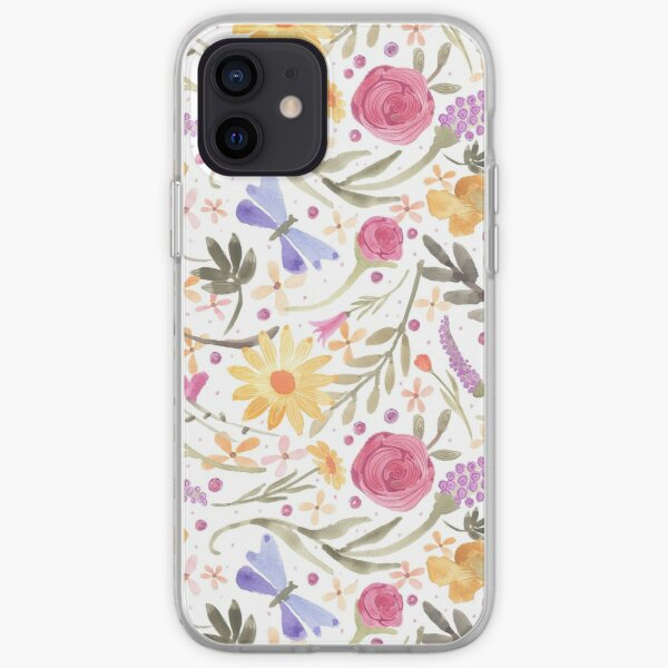 Scattered Summer Bouquet iPhone Soft Case