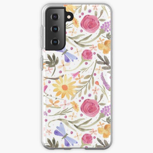 Scattered Summer Bouquet Samsung Galaxy Soft Case