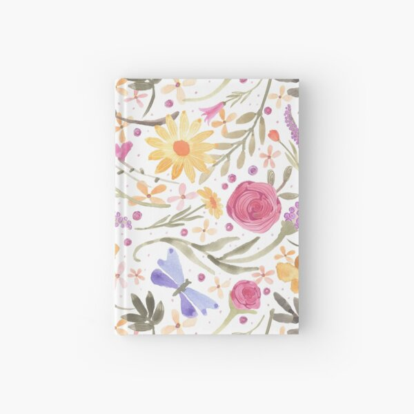 Scattered Summer Bouquet Hardcover Journal