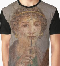 Souvenir from Pompeii - Saffo is thinking Graphic T-Shirt