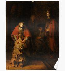 Rembrandt Harmensz van Rijn - Retugarn of the Prodil Son  Poster