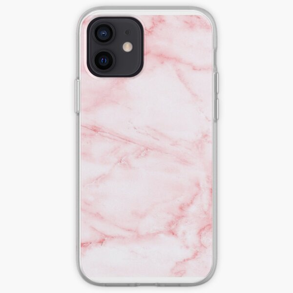 Pink Marble iPhone Soft Case