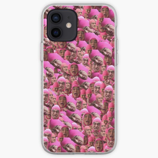 Pink guy iPhone Soft Case