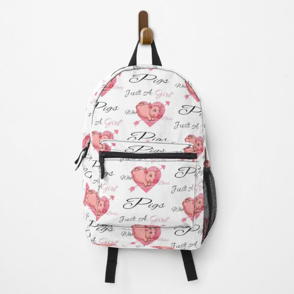 Just A Girl Who Loves Pigs Backpack