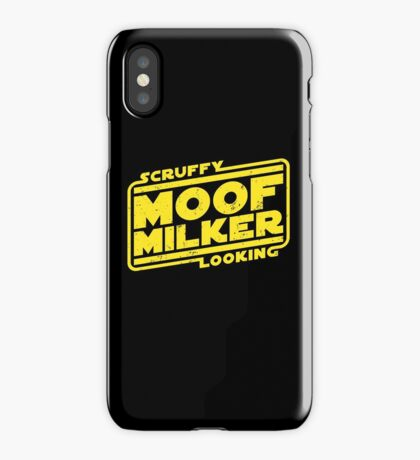 Scruffy Looking Moof Milker iPhone Case/Skin