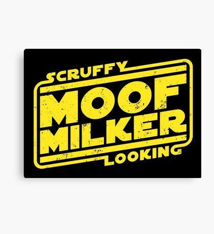Scruffy Looking Moof Milker Canvas Print