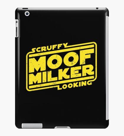 Scruffy Looking Moof Milker iPad Case/Skin
