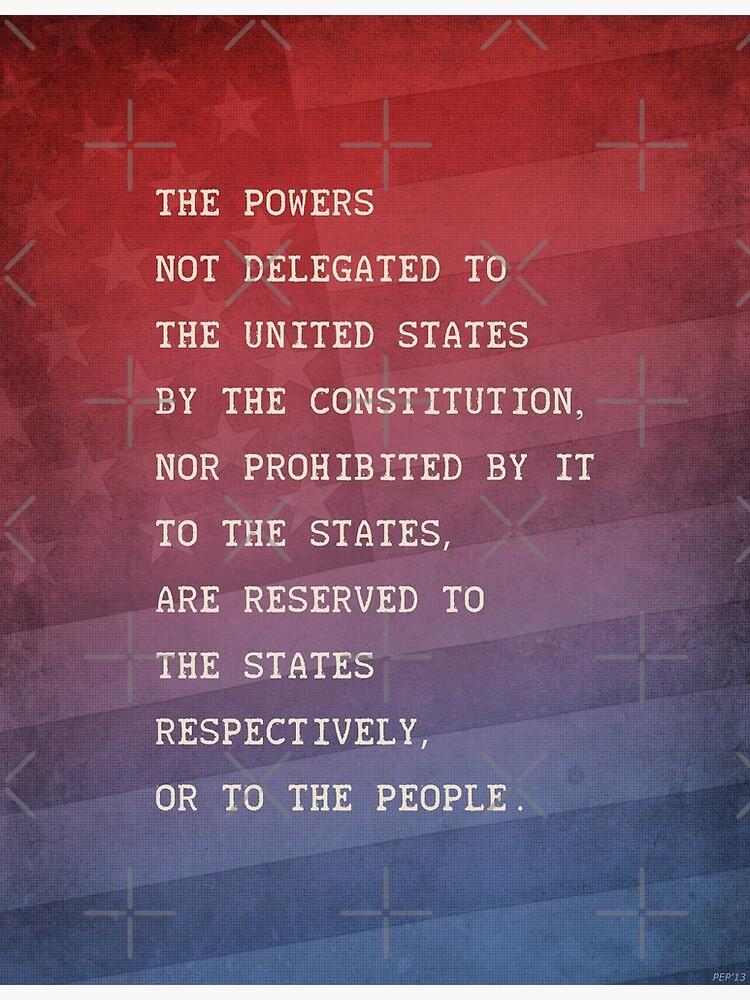 Tenth Amendment by morningdance