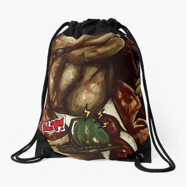 Animal Communication Drawstring Bag