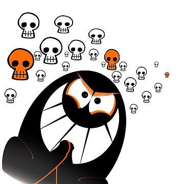 Halloween Ghost by Bradsite