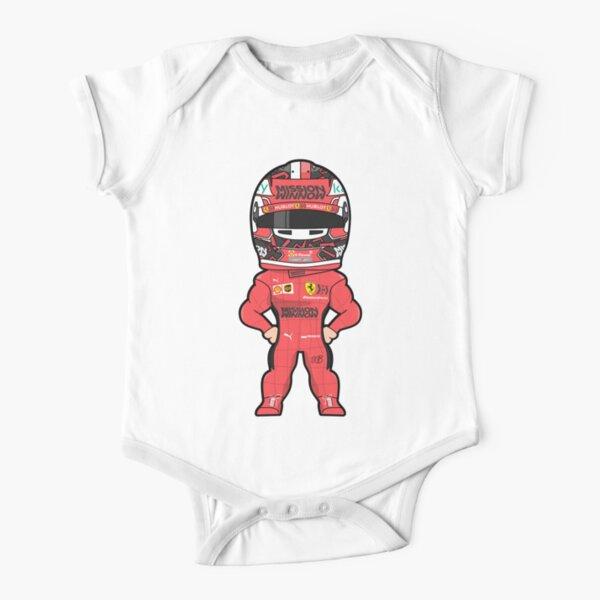 Charles Leclerc Ferrari Formula 1 2020 Short Sleeve Baby One-Piece